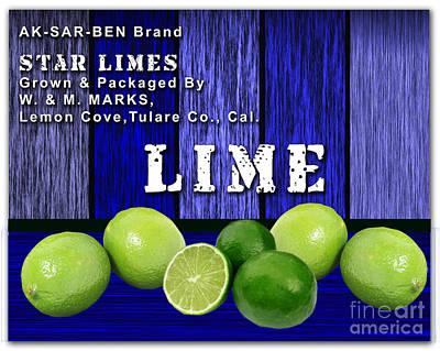 Lime Farm Art Print by Marvin Blaine