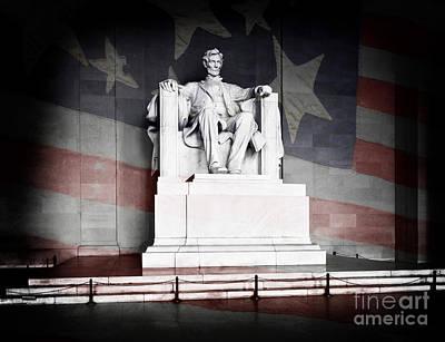 Lincoln Memorial Art Print by Lane Erickson