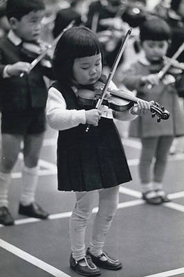 Little Fiddlers Make Big Music Art Print by Retro Images Archive