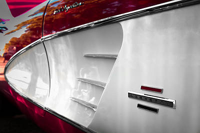 Photograph - Little Red Corvette by Ron Pate