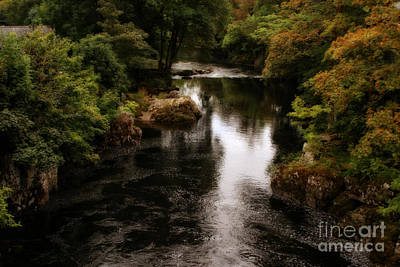 Photograph - Llangollen And Maelor Country River by Doc Braham