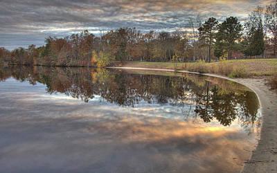 Photograph - 4 Llenape W Sunset13 by Greg Vizzi