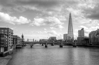 Photograph - London Skyline by Chris Day