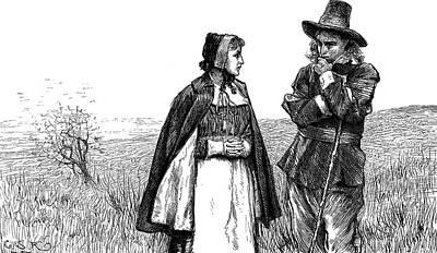 Longfellow Standish Art Print by Granger
