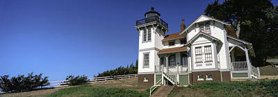 Luis Photograph - Low Angle View Of A Lighthouse, Point by Panoramic Images