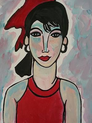 Painting - Madeleine by Nikki Dalton