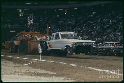 Monster Truck Photograph - Madison Square Garden Monster Truck Show by Antonio Martinho