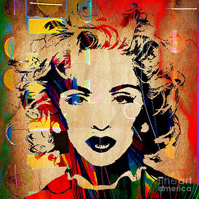 Madonna Collection Art Print