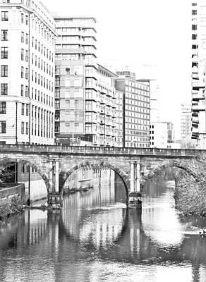 Manchester Art Print