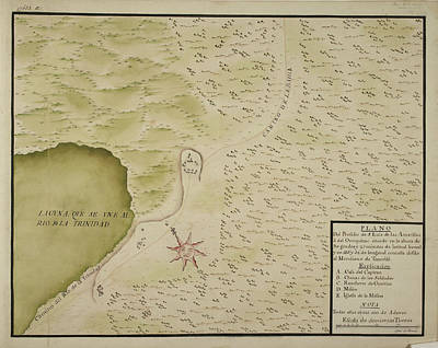Cartography Photograph - Maps Of Towns In The North Of Mexico by British Library