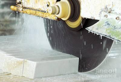 Marble Quarrying Art Print by RIA Novosti