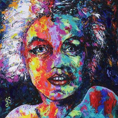 Marilyn Monroe Original by Joyce Sherwin