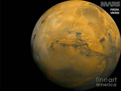 Mars Art Print