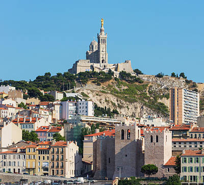 Byzantine Photograph - Marseille, Provence-alpes-cote Dazur by Panoramic Images