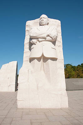 Martin Luther King Jr Memorial Art Print by Lee Foster