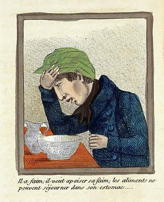 Vomit Photograph - Masturbation Health Booklet by British Library