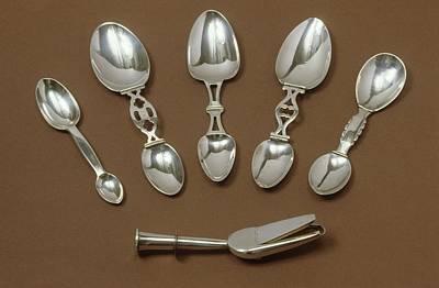 Medicine Spoons Art Print