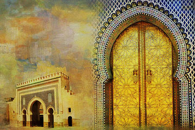 Medina Of Faz Art Print by Catf