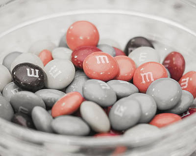 Photograph - Red Mnms by Andy Crawford
