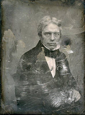 Photograph - Michael Faraday (1791-1867) by Granger