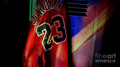 Michael Jordan Mixed Media - Michael Jordon by Marvin Blaine