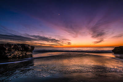 Photograph - 4 Mile Beach Sunset by Linda Villers