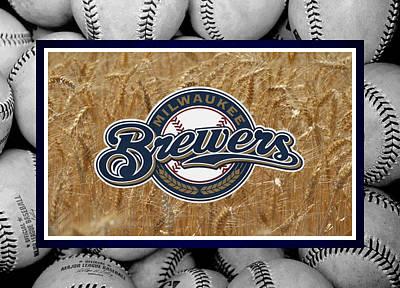 Brewer Photograph - Milwaukee Brewers by Joe Hamilton