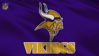 Minnesota Vikings Uniform Art Print
