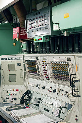 Historic Site Photograph - Minuteman Missile Control Room by Jim West