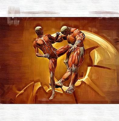 Bruce Lee Wall Art - Digital Art - Mixed Martial Arts by Joseph Ventura