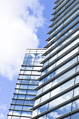 Ambition Photograph - Modern Building by Tom Gowanlock