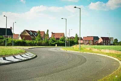 Asphalt Photograph - Modern Road by Tom Gowanlock