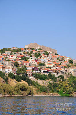 Photograph - Molyvos Village by George Atsametakis