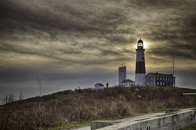 Photograph - Montauk Point Lighthouse by Alex Potemkin