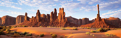 Monument Valley Arizona Usa Art Print by Panoramic Images