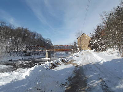 Photograph - Motor Mill Winter by Bonfire Photography