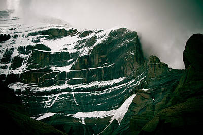 Tibetan Buddhism Photograph - Mount Kailash Western Slope Home Of The Lord Shiva by Raimond Klavins