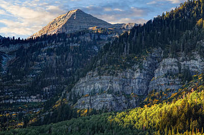 Photograph - Mount Timpanogos by Douglas Pulsipher