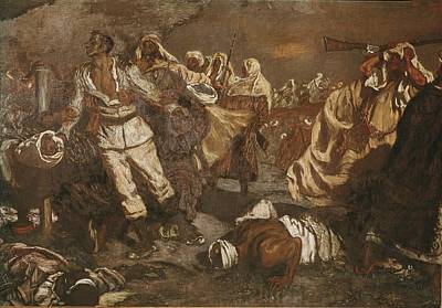 Mu�oz I Degrain, Antoni 1841-1924 Art Print