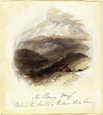 Myles Birket Foster, British 1825-1899 Art Print