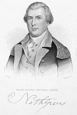 Autographed Photograph - Nathanael Greene by Granger