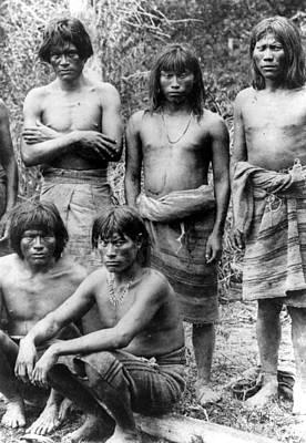 Native Brazilians Art Print by Granger