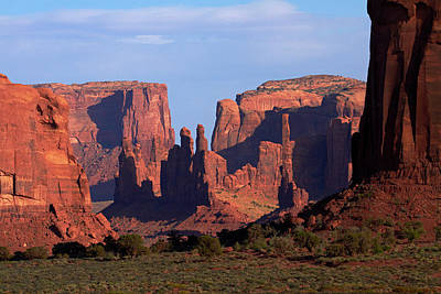 Navajo Nation, Monument Valley, Yei Bi Print by David Wall