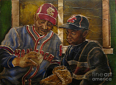Negro League Story Print by Anthony High