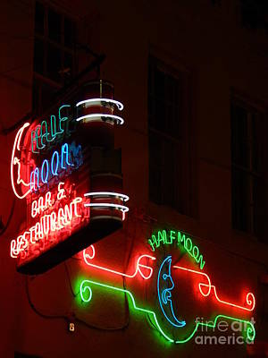 Photograph - New Orleans Neon by Michael Hoard