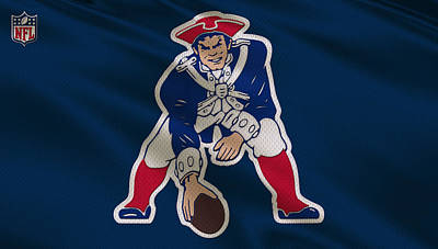 Patriots Photograph - New England Patriots Uniform by Joe Hamilton