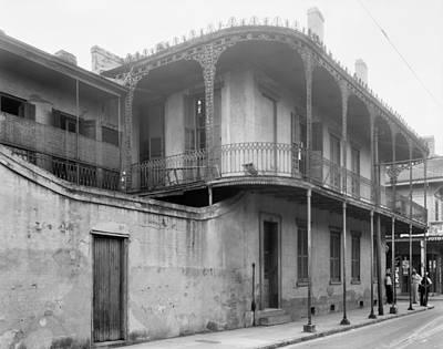 Photograph - New Orleans Building by Granger