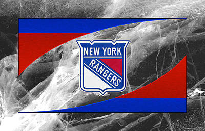 Hockey Photograph - New York Rangers by Joe Hamilton