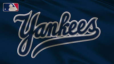 New York Yankees Uniform Print by Joe Hamilton