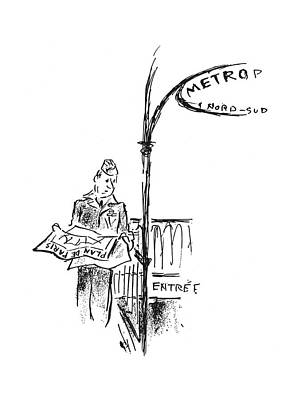 Europe Drawing - New Yorker September 30th, 1944 by Alan Dunn